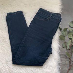 J Brands Women's Maria Skinny Leg Dark Wash Jeans
